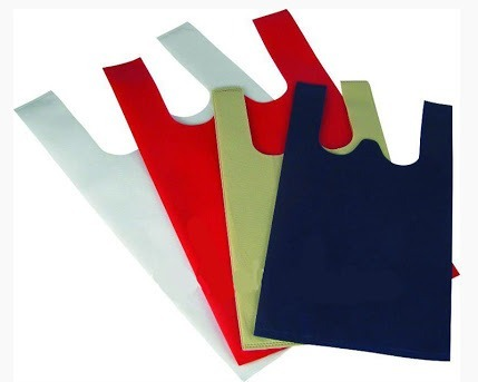 Non Woven Carry (U-cut or T-shirt or Vest)bags